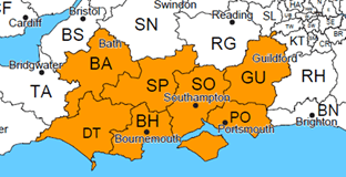 Supply and install in Dorset, Hampshire, Wiltshire, Somerset and Devon